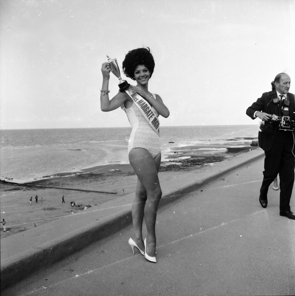 Miss Margate and photographer