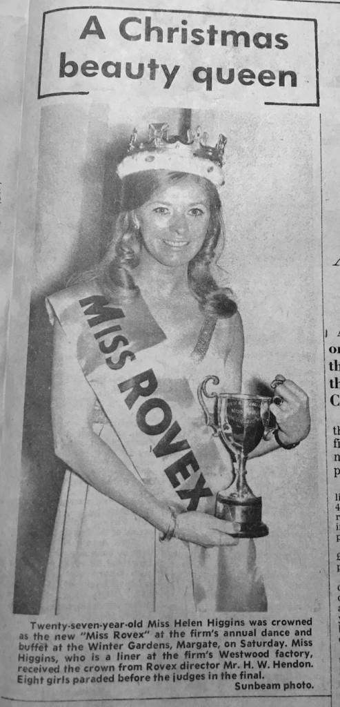 Miss Rovex 1970