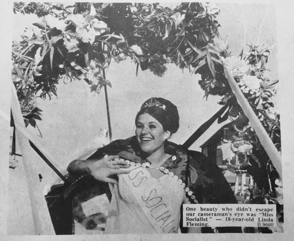 Miss Socialist carnival